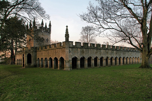 Bishop Auckland, Auckland Castle Deer House by martin97uk, via Flickr