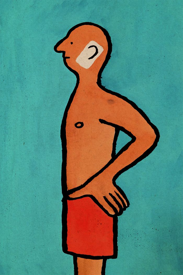 "French illustrator Jean Jullien draws witty illustrations that point out our absurd addictions to technology, social media and our smartphones. The artist is famous for mocking our obsession, which cuts us off from the real life, leaving us alienated and lonely. Besides his satire, Jullien also uses social networks as a political platform. He is widely known for creating the ""Peace for Paris"" symbol which has become a worldwide sign of solidarity with France after the Paris attacks."