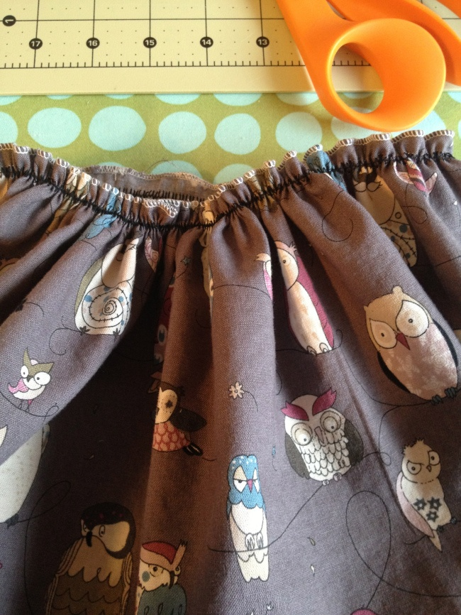 Awesome Way to Gather fabric!