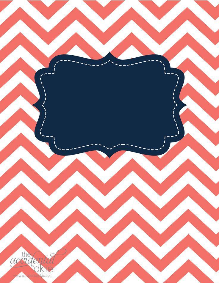 8 Best School Binder Cover Print Images On Pinterest | Binder