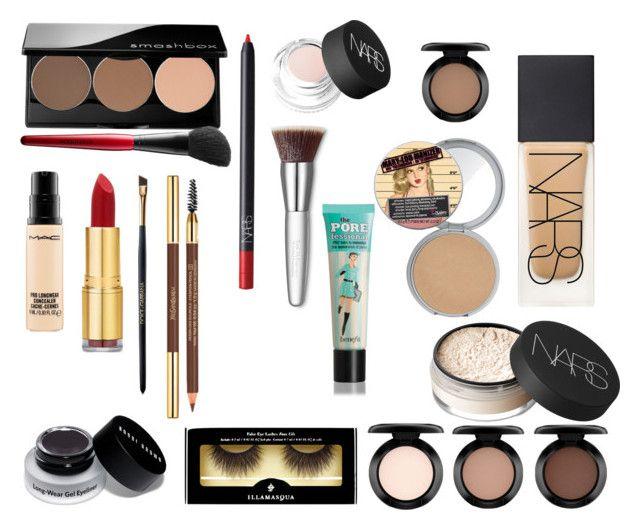 """BEDROOM EYES"" by maryannbalint on Polyvore featuring beauty, NARS Cosmetics, MAC Cosmetics, Smashbox, Isaac Mizrahi, Bobbi Brown Cosmetics, Dolce&Gabbana, Illamasqua, Trish McEvoy and Benefit"