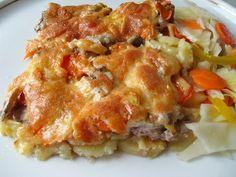 Картошка с фаршем запеченная в духовке