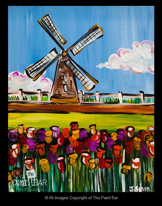 Famous Windmills | Famous Windmill Paintings