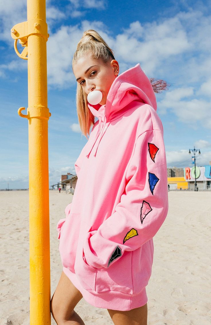 A first look at Kith's latest collaboration with Power Rangers. The brand has proven it's a streetwear brand with both hype and heart. See the full look book featuring Hailey Baldwin.