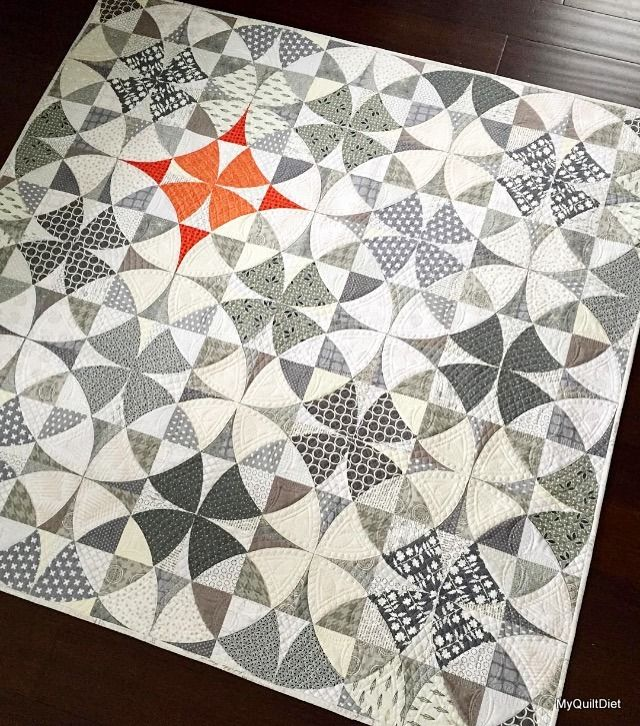 Guess what??? I got so busy, I forgot to actually finish this post before I posted it :-0   lol!         When I saw this quilt by Jenny of...