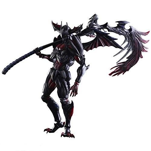 Monster Hunter - Did you get the Diablos Armour in Monster Hunter 4 Ultimate and loving it? Are you a diehard fan of Square Enix's final fantasy series and Capcom's Monster Hunter series? If so, you got to get this special Monster Hunter Cross figurine of Diablos(Rage) Armor with Wings of Judgement Long Sword which is exclusive equipment set designed by Tetsuya Nomura from Square Enix!