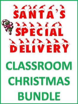 Christmas Santa's Special Classroom Delivery Bundle | Christmas Candy ...