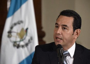 A US senator has warned Guatemala that aid funding could be put in jeopardy if the Central American country's president, Jimmy Morales, insists on calling for the removal of Iván Velásquez, the head of the anti-corruption body CICIG.