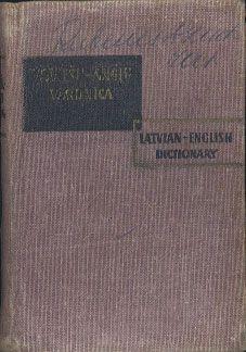 Latvian-English Dictionary. Latviešu-anglu vārdnīca, Liesma, 1966, http://www.antykwariat.nepo.pl/latvianenglish-dictionary-latvie%C3%82%C5%A1uanglu-v257rdn299ca-m-p-13027.html
