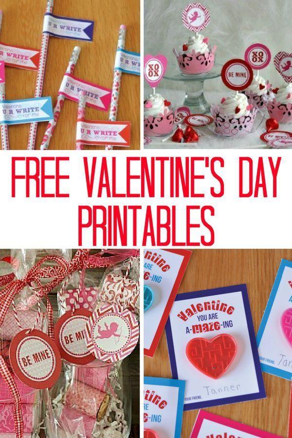 205 best Free Valentine\'s Day Printables images on Pinterest ...