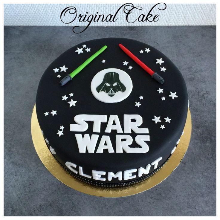 Fabuleux Les 25 meilleures idées de la catégorie Gâteau star wars sur  XR87