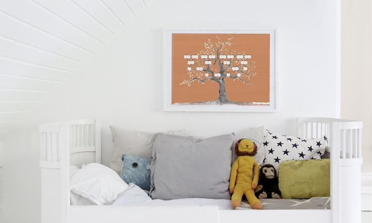 Robert's Oak-tree  Fitting perfectly for at boy's room