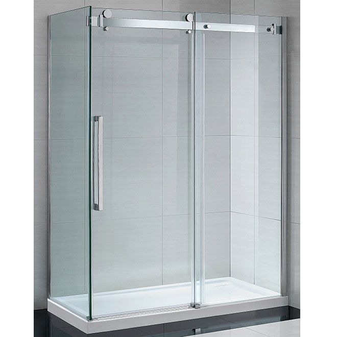sierra sliding shower door 60 458 renovation