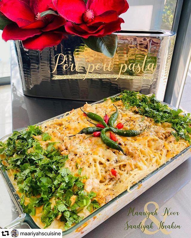 Repost Maariyahscuisine Peri Peri Pasta Peri Peri Pasta Maariyahscuisine Cook Pasta In Water Salt And A How To Cook Pasta Garlic Chicken Stuffed Peppers