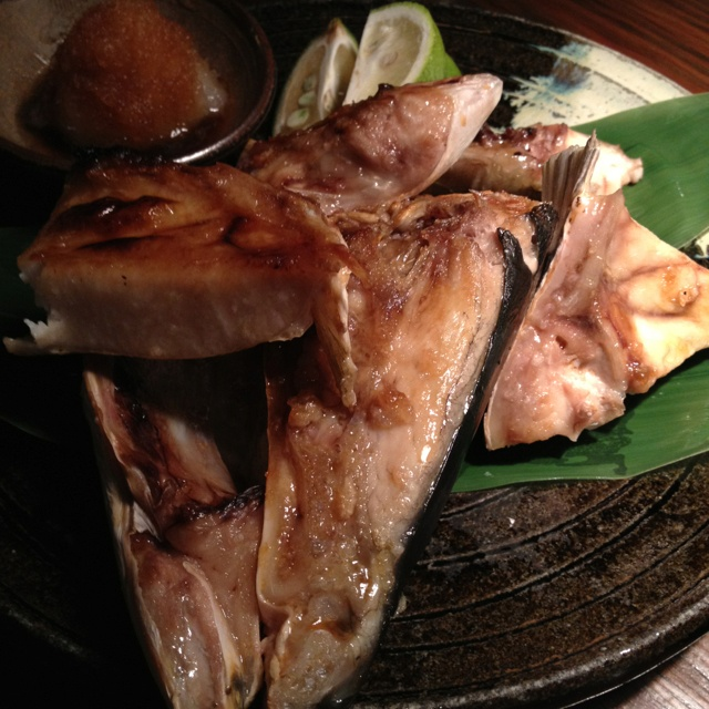 Head of the yellowtail(ブリカマ)