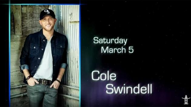 Cole Swindell Rodeo Houston 2016 March 5th.