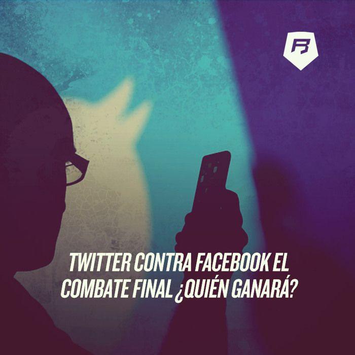 Los contrincantes son #Facebook contra #Twitter El cuadrilátero, las redes sociales >>> http://socialmedia-rebeldesonline.com/twitter-o-facebook/
