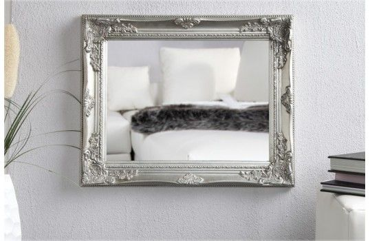 22 best images about miroir design on pinterest antiques for Miroir argente baroque