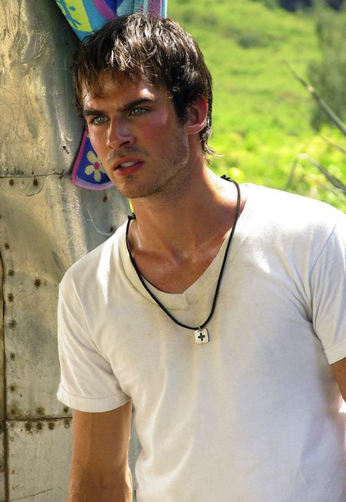 Lost - Boone Carlyle. Aka the fabulous sexy Ian somerhalder :)