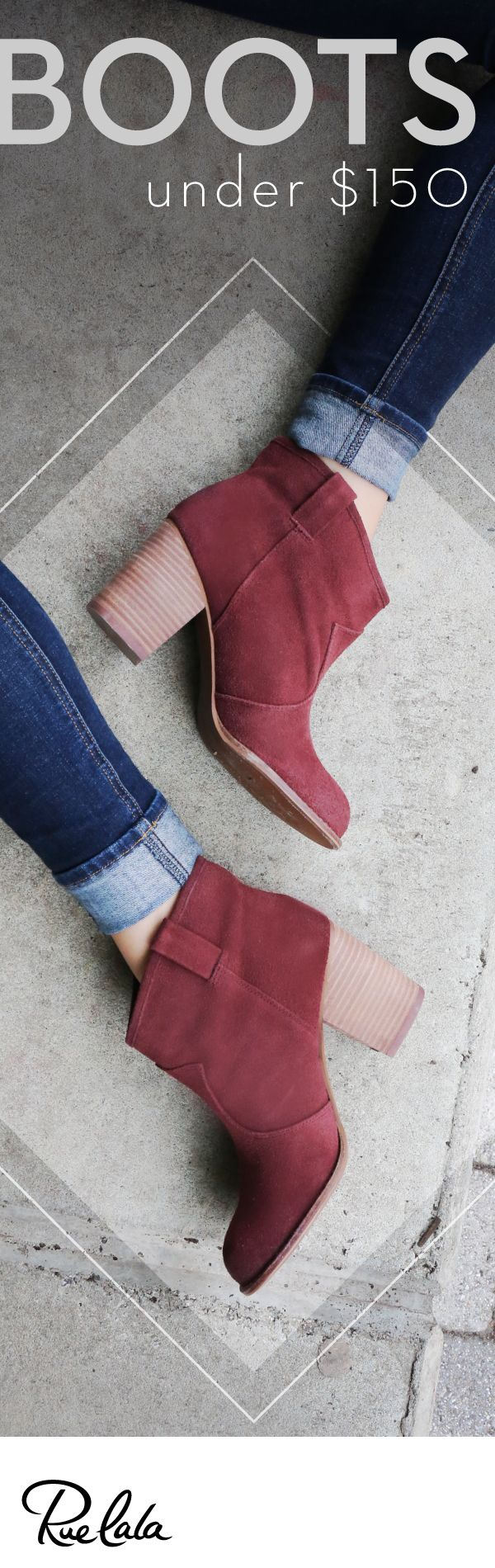 Shop must-have boots from Donald J Pliner, Seychelles, and more. All under $150. Join Rue La La today for free and get started.
