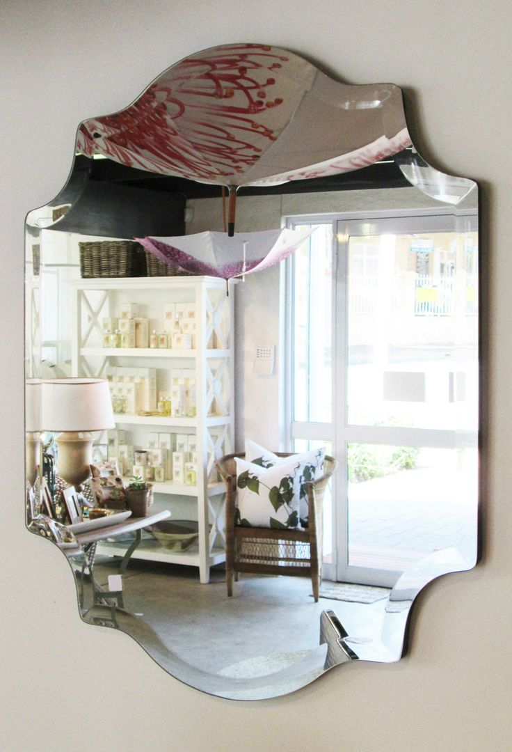 In Stock - Frameless Mirror 600mm x 750mm - Inside Out Home Boutique - Please check stock availability
