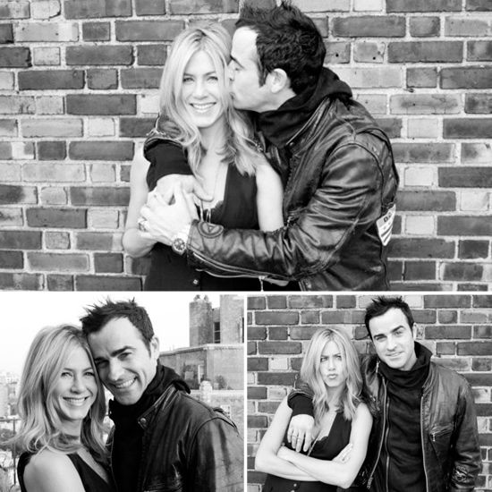 Engagement photos - yes or no, can i be jennifer aniston for my wedding....
