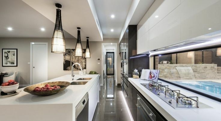 """Mayfair Homes """"The Curzon"""" - 4 Xenica Street, Wright ACT Lumina Mocha polished porcelain floors  HNT series outdoors Such a smart looking home"""