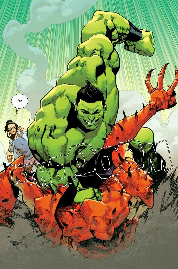 #Hulk #Fan #Art. (The Totally Awesome Hulk (2016) #11 15-of-24 Page) By: Amadeus Cho. (THE * 5 * STÅR * ÅWARD * OF: * AW YEAH, IT'S MAJOR ÅWESOMENESS!!!™)[THANK Ü 4 PINNING<·><]<©>ÅÅÅ+(OB4E)