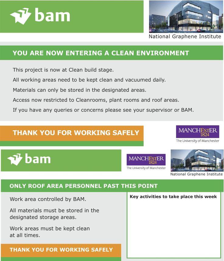 BAM H&S Site Signage (BAM031)