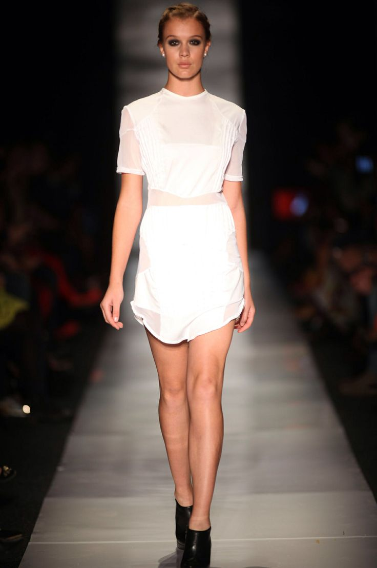 Samantha Constable mesh dress available on www.runwayonline.co.za