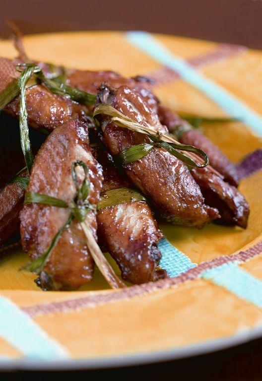 chicken wings in plum sauce
