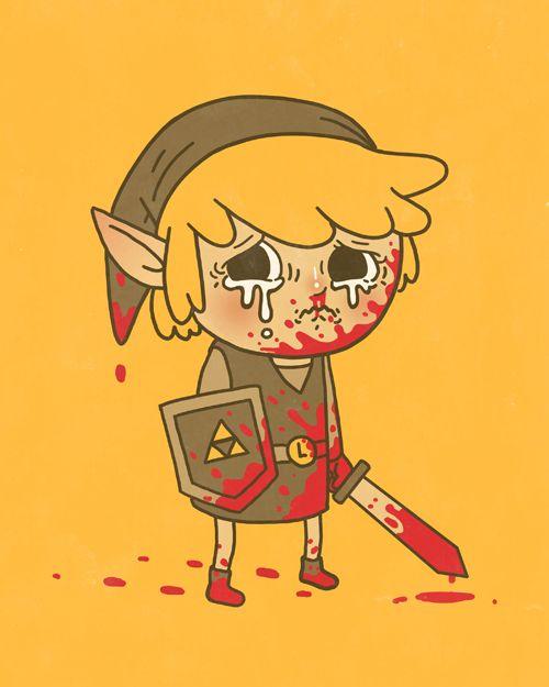 Didja... Didja beat him, Link?