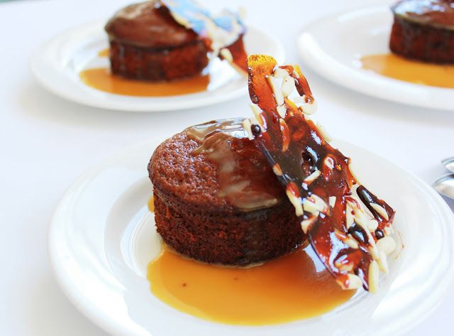 how to make sticky date pudding with butterscotch sauce
