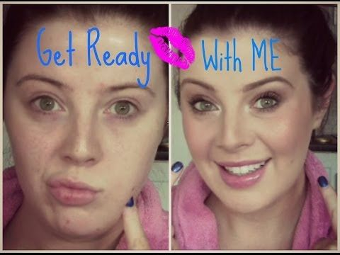 From DRAB to... well, less drab! Click the link to see how I make myself look decent on an everyday basis! (My YouTube: MyMakeupPerspective) xx
