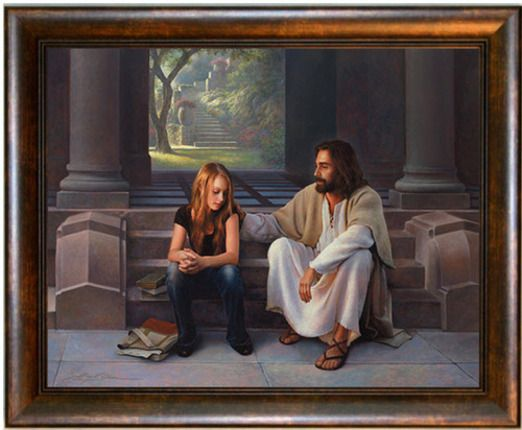 Master's Touch by Greg Olsen