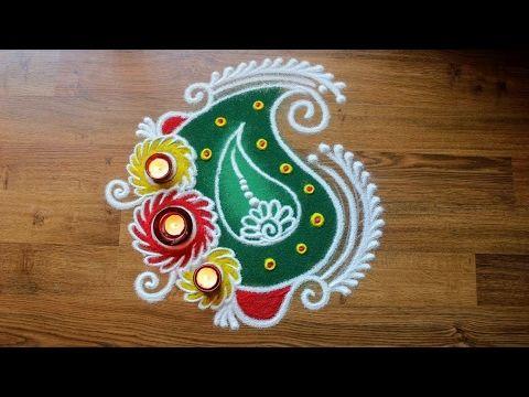 the 25 best diwali rangoli designs freehand ideas on