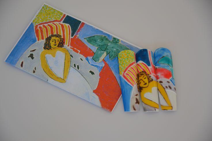 Henri Matisse (2014) #nailart