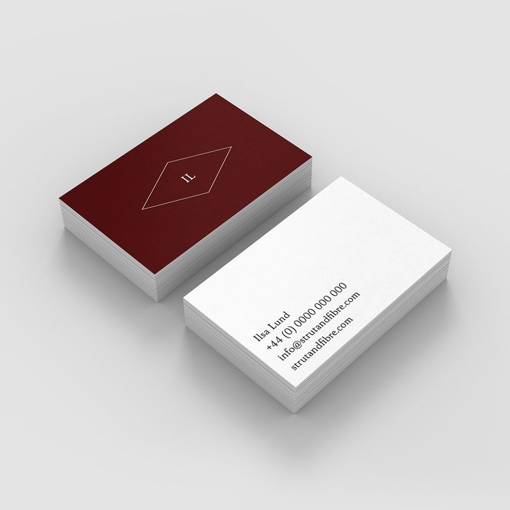 20 best Classic – Strut and Fibre Business Card Templates images on ...