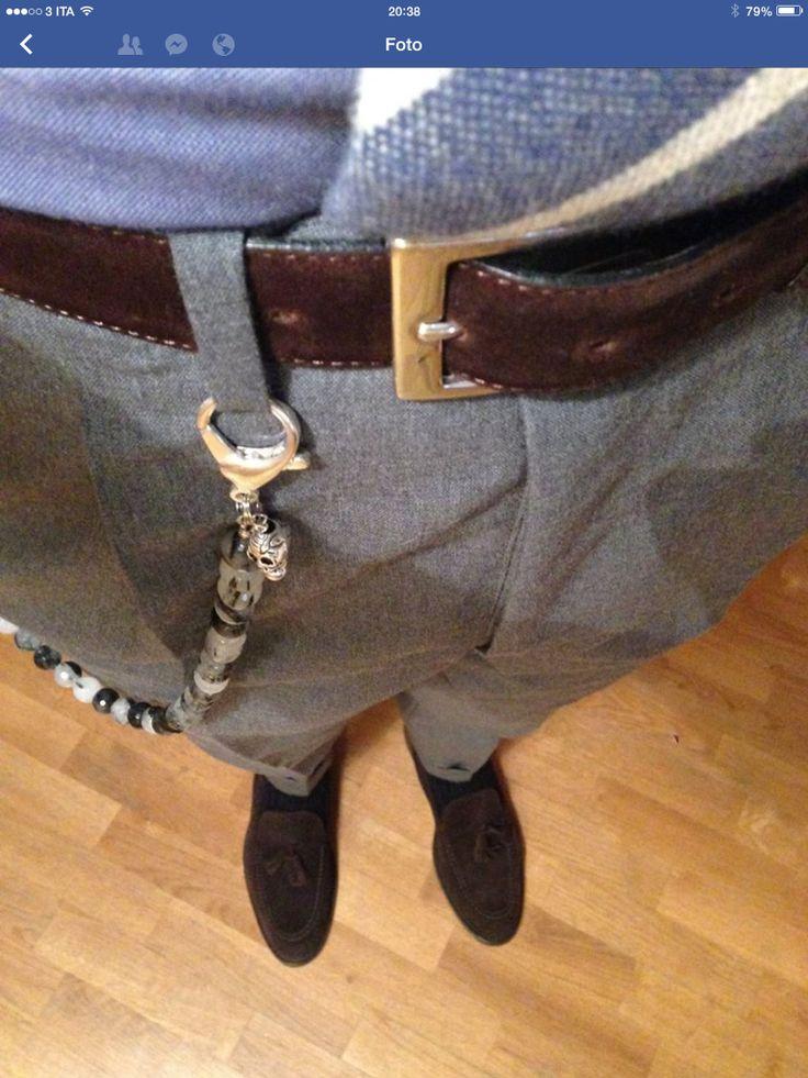 catena da pantaloni - trouser chain - pants chain http://aetnastones.com