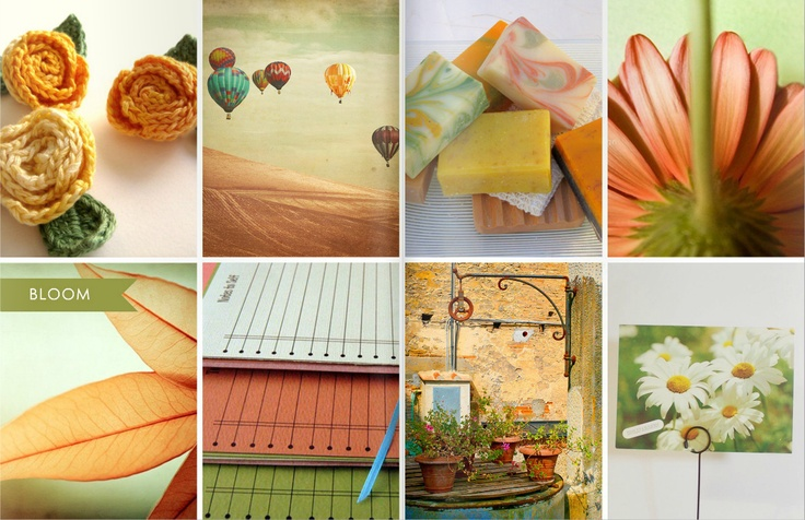 59 best amazing lovely clusters catalog pages images on for Color collage ideas