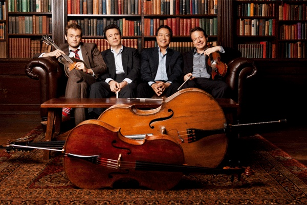 The Goat Rodeo Sessions with Edgar Meyer, Yo-Yo Ma, Stuart Duncan, and Chris Thile.