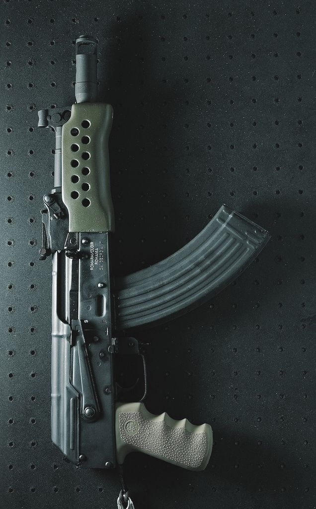 Chopped AK47/7.62mm subgun...