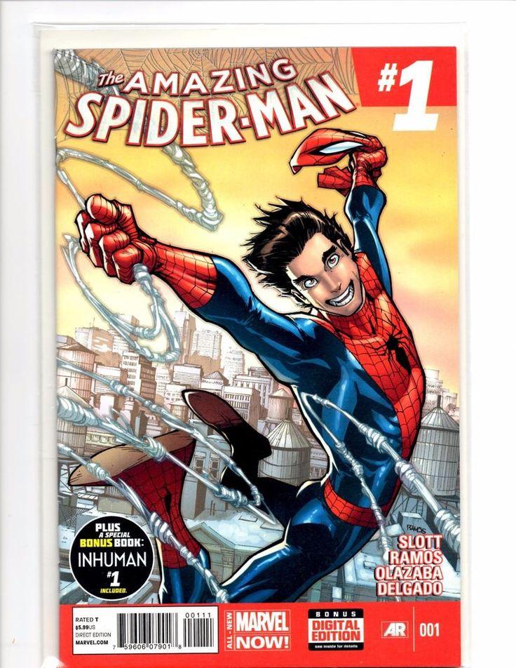 Amazing Spiderman  2014. 3 Series Comics Books