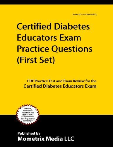 Certified Diabetes Educator Exam Practice Questions (First Set) #cdetraining