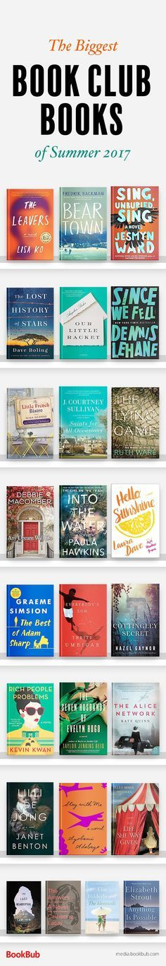 Great book club books for women. If you're looking for book club recommendation ideas and inspiration, these books have plenty to discuss!