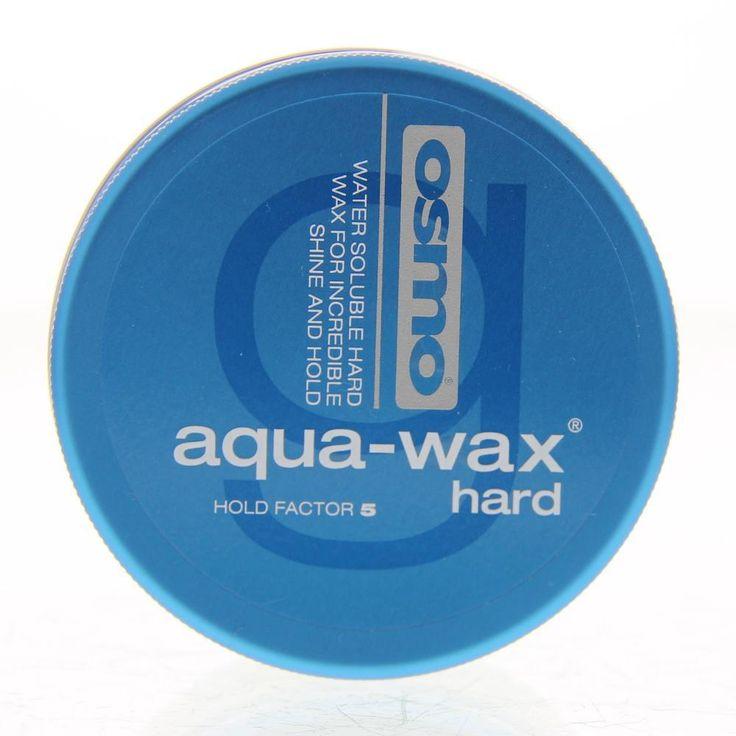 Osmo Styling Aqua-Wax Hard Wax Water Soluble Hard Wax Hold 5 100ml  Description: Osmo Styling Aqua-Wax Hard - Water Soluble Hard Wax Hold 5. Een wateroplosbare harde wax voor ongelofelijke glans en sterke fixatie. Creëert de ultieme definitie en temt pluizig haar. Gebruik: Masseer de gewenste hoeveelheid grondig door het hele haar nat of droog. Begin met stylen.  Price: 5.95  Meer informatie