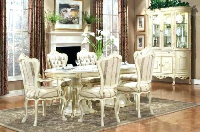 Style Living Room Sets Dining Set Elegant Antique Furniture Beautiful 9 Chairs Modern Decor Idea Dining Room Victorian Small Living Rooms Victorian Living Room #victorian #style #living #room #set