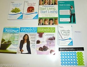 Weight Watchers Points Plus Calculator Tracker Restaurant Companion's Food Companion's Guide 2010 Pedometer