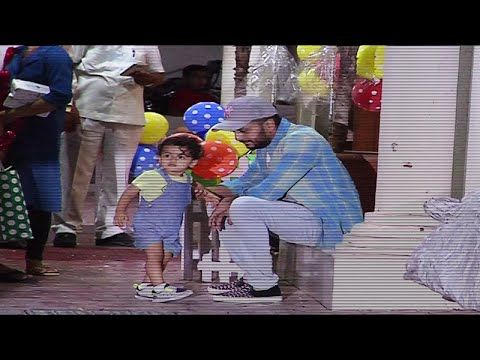 Riteish Deshmukh PLAYING with his son Riaan - UNSEEN VIDEO.