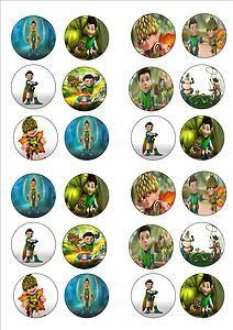 24 Tree Fu Tom Cake Toppers  EBay cakepins.com